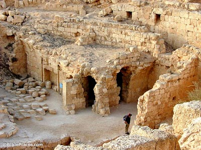 Bathhouse on Herodium