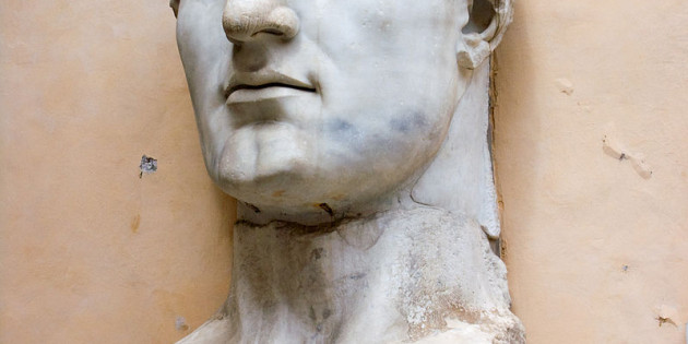 Bust of the Emperor Constantine I, ruled 324-337 CE