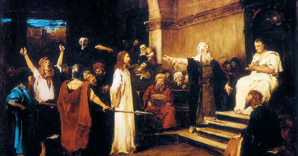 """Stephen J. Patterson. """"The Dark Side of Pilate."""" Bible Review 19, 6 (2003)."""