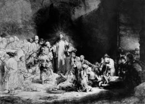 Rembrandt Jesus