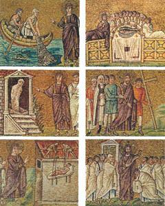 Mosaic panels, Ravenna