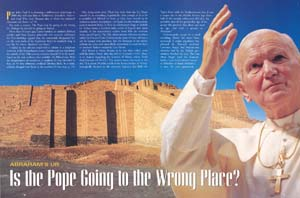 Abraham's Ur - Is the Pope going to the wrong place
