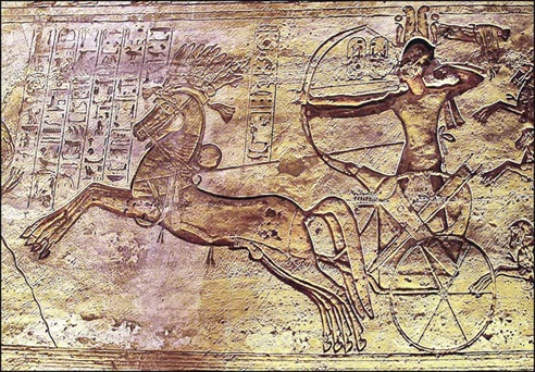 Battle of Kadesh, Temple of Ramses II