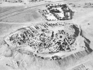 Tel Beer-sheba aerial view