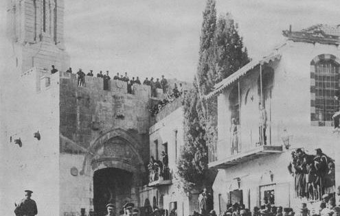 The British Mandate in Palestine