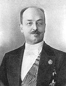 February 17, 1902, Russian Foreign Minister Vladimir Nikolaevich Lamsdorff