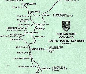 1907, British and Russian Railroad in Persia