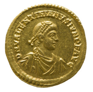 Valentinian II Coin