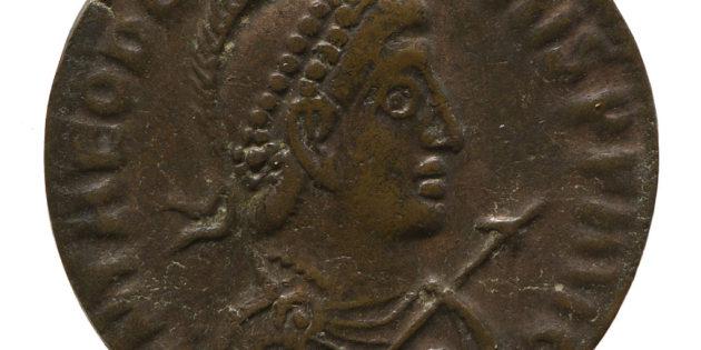 September 29, 393 C.E. Emperors Theodosius I (379 – 395) and Honorius (393 – 423)