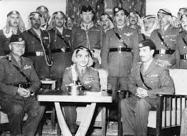 June 16, 1956 General Ali Abu Nuwar of Iraq