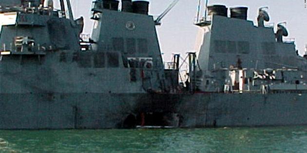 October 12, 2000 Arab Blast Kills U.S. Sailors in Yemen