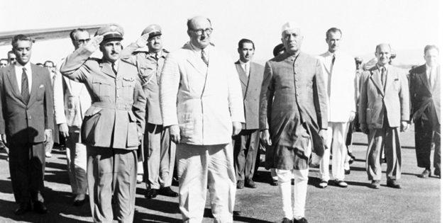 June 28, 1956 Prime Minister Sabri al-Asali of Syria