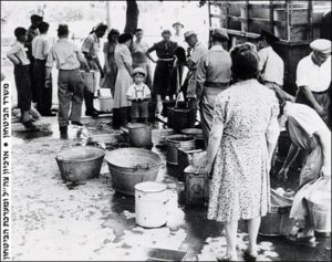 April 8, 1948 Disruption of water supply to