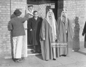 [Future King of Saudi Arabia] Emir Faisal