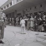 August 1945 British Restrict Jewish Immigration to Palestine