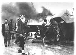 December 4 1947 Arabs attacked Jewish bus convoys at Ramleh