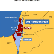 December 2nd, 1947 Arabs protest Palestine partition