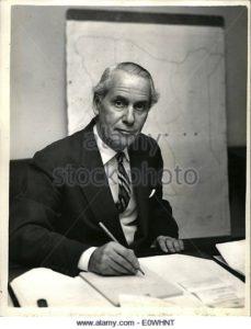 Colonial Secretary Malcolm McDonald