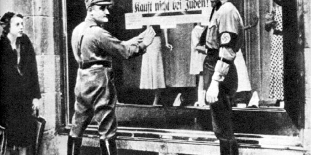 April 1st, 1933 Nazi Boycott of Jewish Stores in Germany