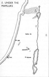 Israel Population Map 1250