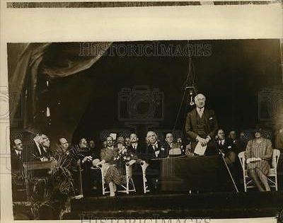 September 4, 1929 Sir John Chancellor, High Commissioner of Palestine Mandate