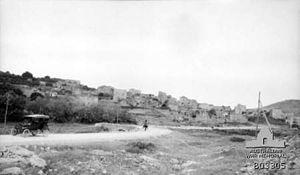 April 15, 1935 Terror on Tulkarm-Nablus Road