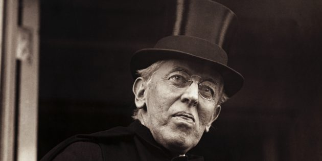 March 3, 1919 President Woodrow Wilson