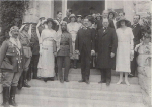 Winston Churchill at the Jerusalem Conference on March 28th, 1921