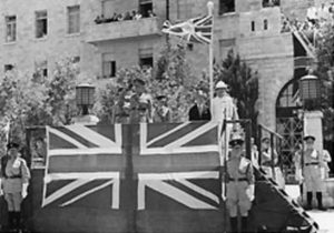 british mandate in palestine