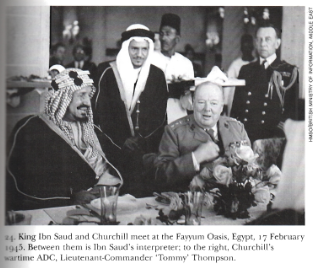 February 24, 1945 Egypt, Syria, Saudi Arabia, and Lebanon Declare War on Germany