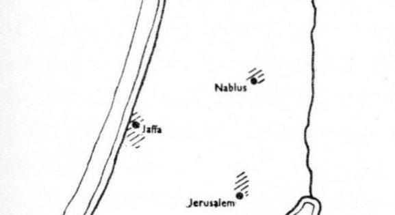 1800 Distribution of Jewish Population in Israel