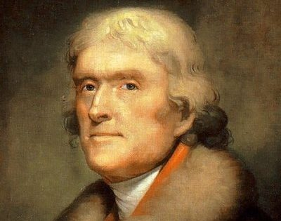 1835 Zionism Letter from Thomas Jefferson