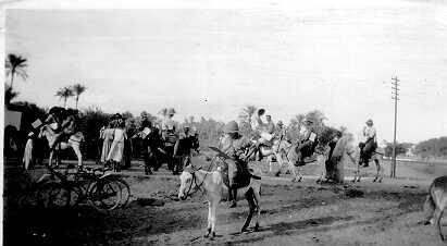 1915 Zion Mule Corps
