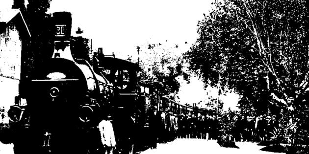 November 27, 1899 Berlin to Baghdad Rail Road