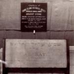 1825 Dedication of Ararat Stone