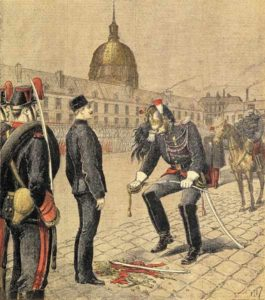 Dreyfus Court-Martialed