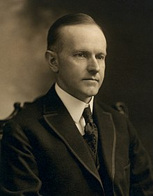 June 1924 President Calvin Coolidge