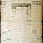 "December 10, 1917 The Detroit News ""Jerusalem Taken By British"""