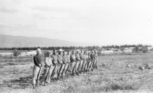 Palmach Members Training at Tirat Tzvi 1947
