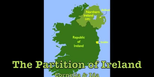 March 27, 2016 The Partition of Ireland