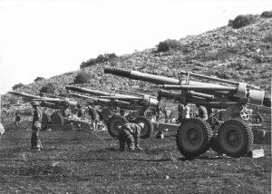 Artillery Battery in the Galilee
