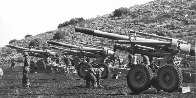 March 6, 1948 Heavy Arab Artillery Moved into Palestine via Syria
