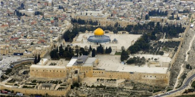 December 1, 1997 The Temple Mount
