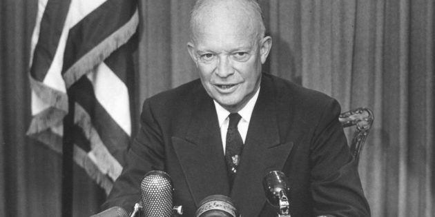 May 14, 1957 U.S. President Dwight David Eisenhower (1953 – 1961)