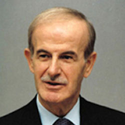 January 26, 1967 Hafiz Asad, Minister of Defence of Syria