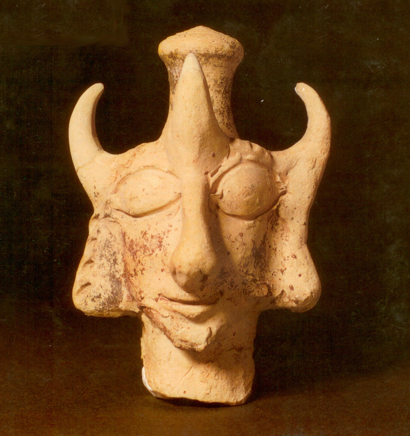 edomite horned figure