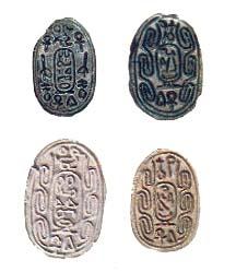 Four Jacob Scarab Seals