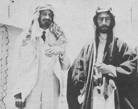 Weizmann and Feisal 1918.jpg